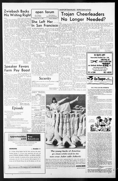 Daily Trojan, Vol. 57, No. 36, November 09, 1965