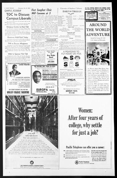 Daily Trojan, Vol. 57, No. 74, February 23, 1966