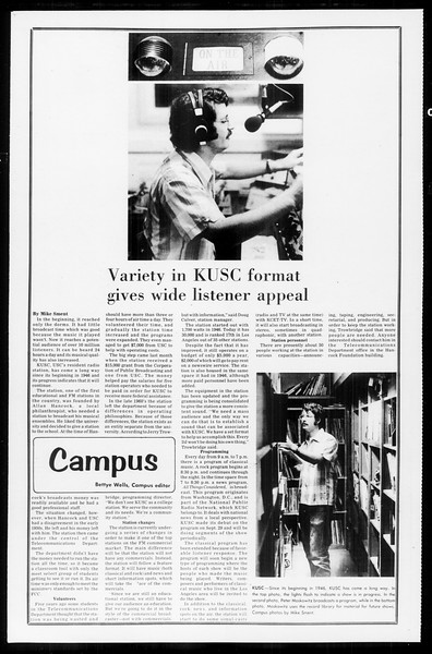 Daily Trojan, Vol. 65, No. 24, October 24, 1972