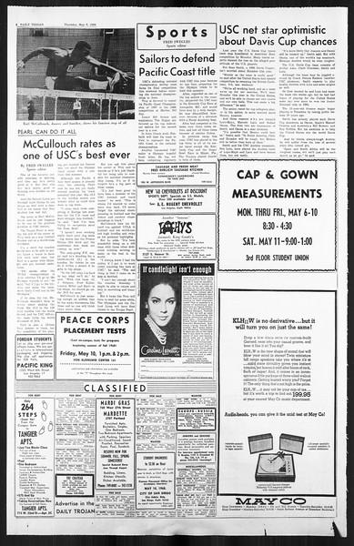 Daily Trojan, Vol. 59, No. 122, May 09, 1968