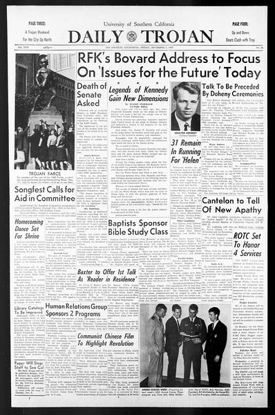 Daily Trojan, Vol. 57, No. 35, November 05, 1965