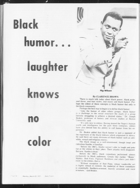 SoCal, Vol. 62, No. 93, March 22, 1971
