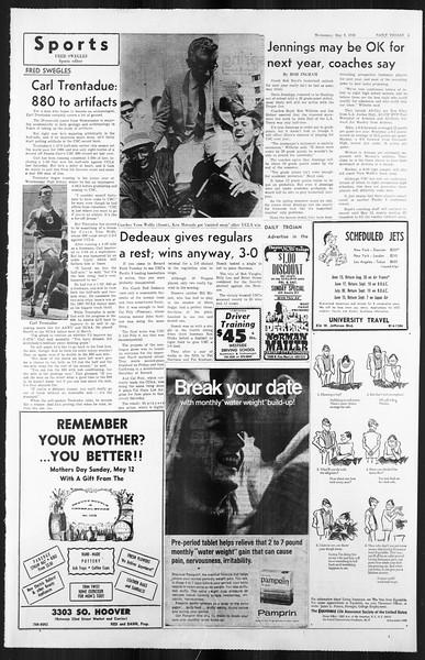 Daily Trojan, Vol. 59, No. 121, May 08, 1968