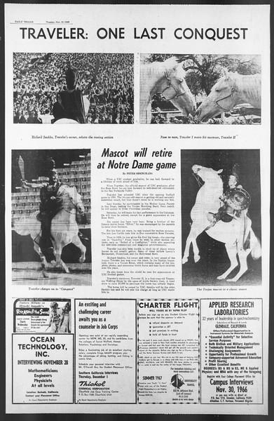 Daily Trojan, Vol. 58, No. 46, November 22, 1966