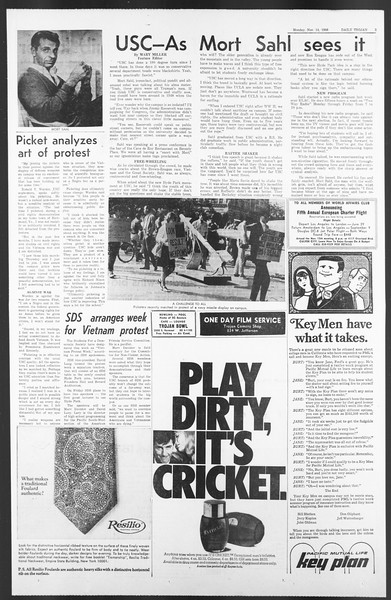 Daily Trojan, Vol. 58, No. 40, November 14, 1966