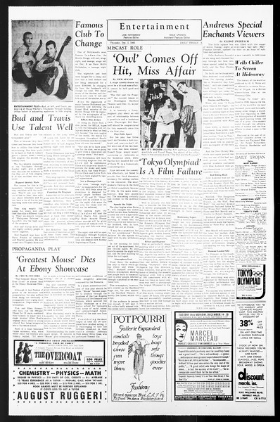 Daily Trojan, Vol. 57, No. 50, December 02, 1965