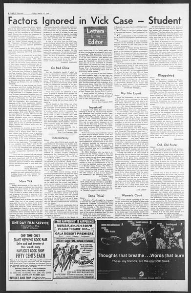 Daily Trojan, Vol. 58, No. 92, March 17, 1967