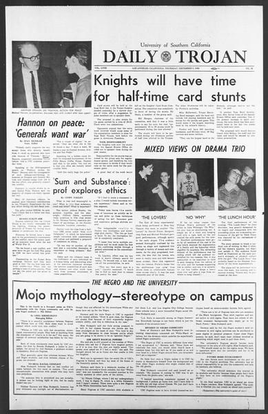 Daily Trojan, Vol. 58, No. 54, December 08, 1966