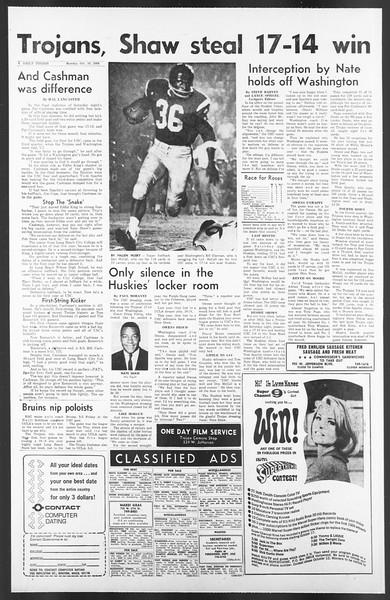 Daily Trojan, Vol. 58, No. 16, October 10, 1966