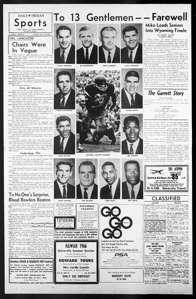 Daily Trojan, Vol. 57, No. 46, November 23, 1965