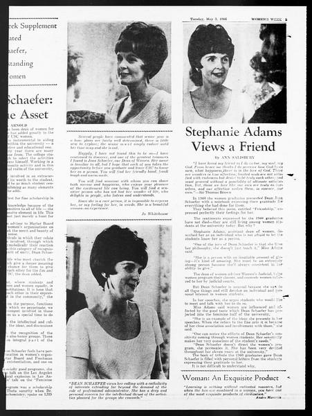 Daily Trojan, Vol. 57, No. 113, May 03, 1966