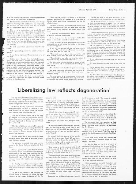 SoCal, Vol. 59, No. 114, April 29, 1968