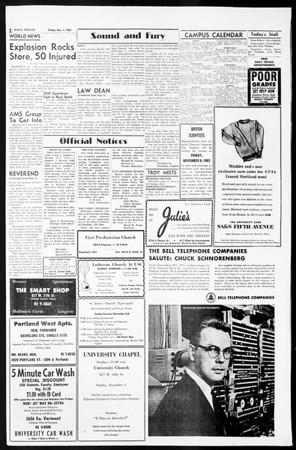 Daily Trojan, Vol. 55, No. 29, November 01, 1963