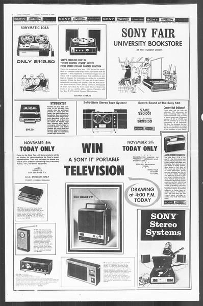 Daily Trojan, Vol. 60, No. 32, November 05, 1968