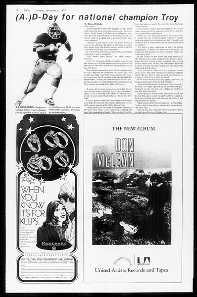 SoCal, Vol. 65, No. 49, December 04, 1972