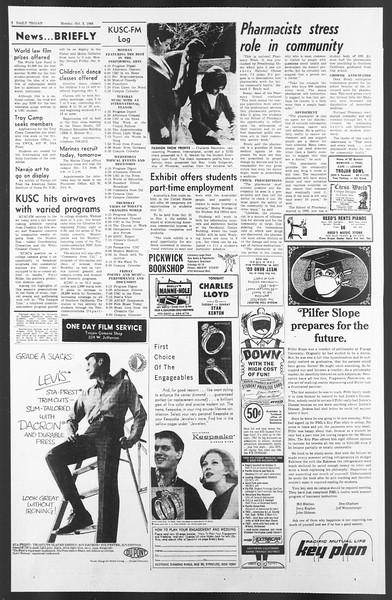 Daily Trojan, Vol. 58, No. 11, October 03, 1966