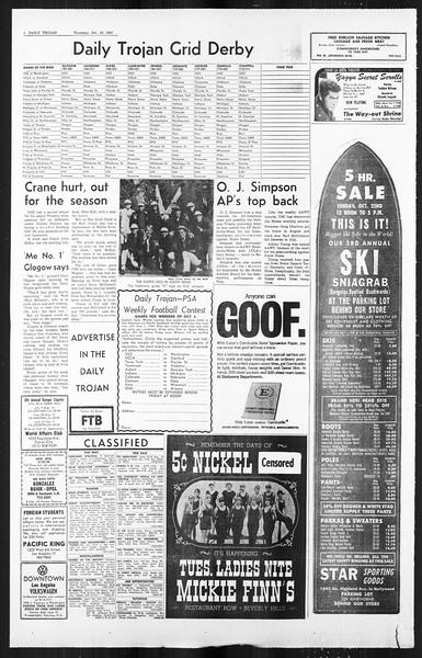 Daily Trojan, Vol. 59, No. 24, October 19, 1967