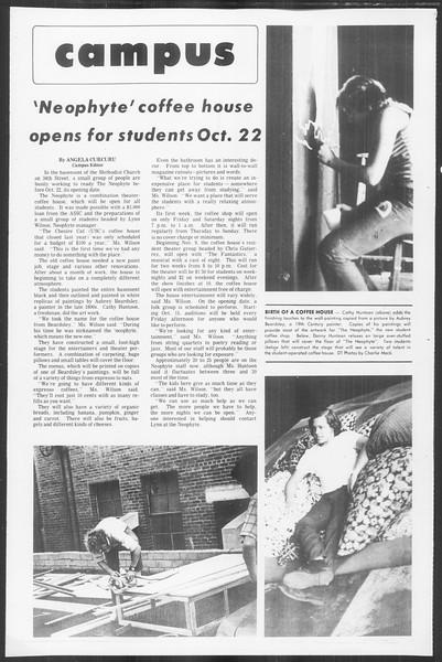 Daily Trojan, Vol. 64, No. 15, October 12, 1971