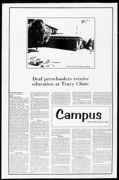 Daily Trojan, Vol. 65, No. 20, October 17, 1972