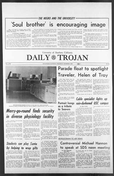Daily Trojan, Vol. 58, No. 53, December 07, 1966