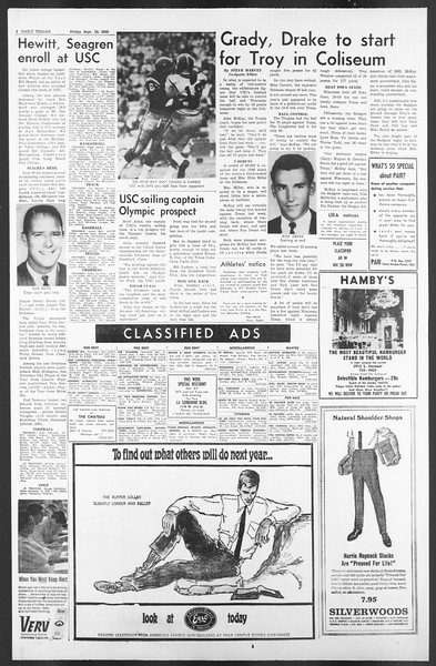 Daily Trojan, Vol. 58, No. 5, September 23, 1966