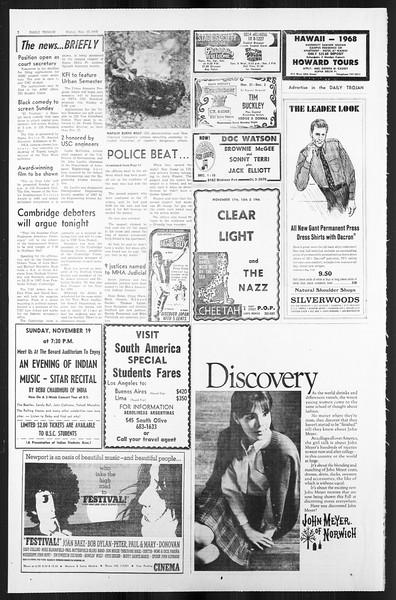 Daily Trojan, Vol. 59, No. 43, November 17, 1967