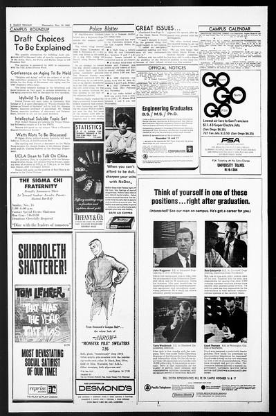 Daily Trojan, Vol. 57, No. 37, November 10, 1965