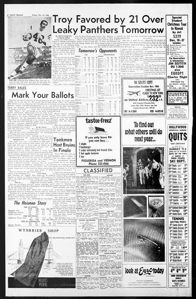 Daily Trojan, Vol. 57, No. 39, November 12, 1965