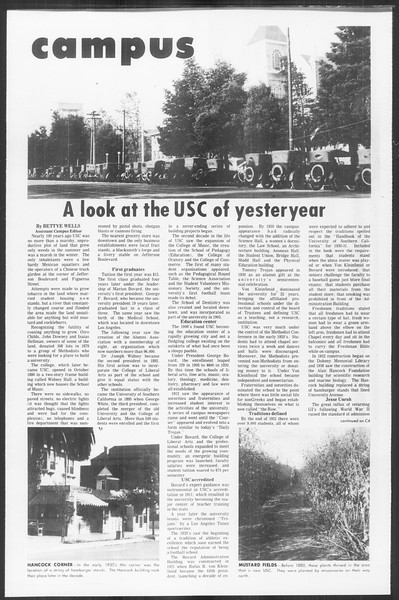 Daily Trojan, Vol. 64, No. 44, November 23, 1971