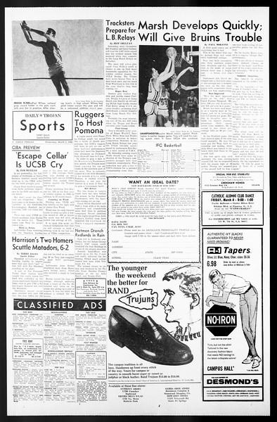 Daily Trojan, Vol. 57, No. 79, March 02, 1966