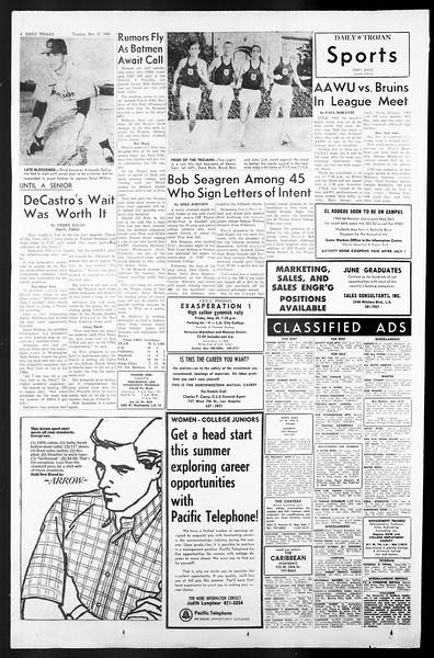 Daily Trojan, Vol. 57, No. 121, May 17, 1966