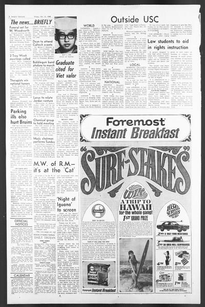 Daily Trojan, Vol. 58, No. 24, October 21, 1966