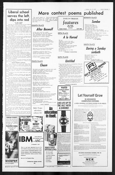 Daily Trojan, Vol. 59, No. 46, November 28, 1967