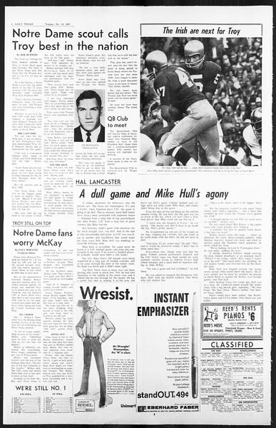 Daily Trojan, Vol. 59, No. 17, October 10, 1967
