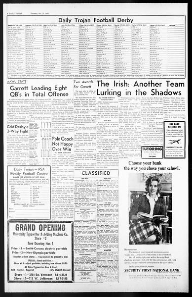 Daily Trojan, Vol. 57, No. 24, October 21, 1965