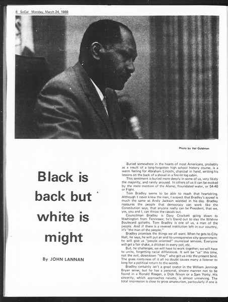 SoCal, Vol. 60, No. 96, March 24, 1969