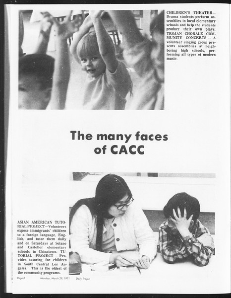 SoCal, Vol. 62, No. 98, March 29, 1971