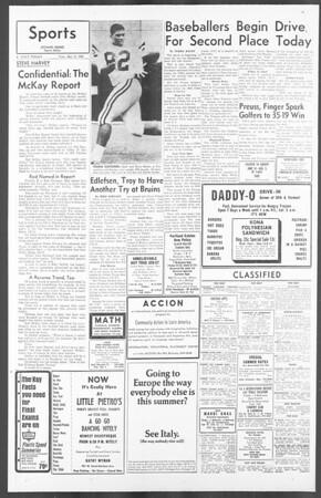 Daily Trojan, Vol. 56, No. 115, May 11, 1965