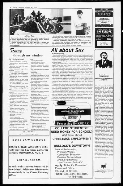 SoCal, Vol. 65, No. 28, October 30, 1972