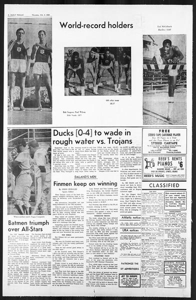 Daily Trojan, Vol. 59, No. 66, February 08, 1968
