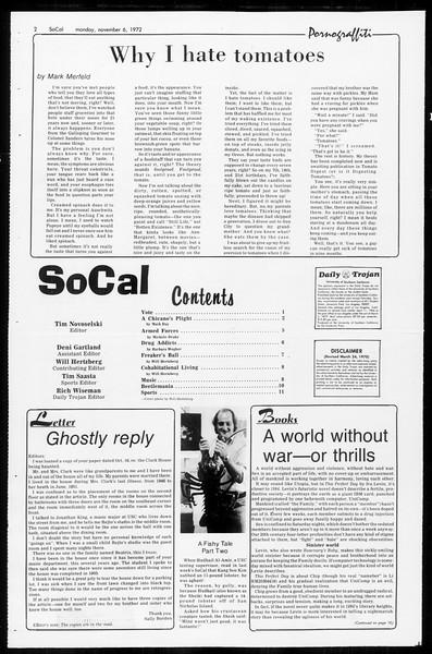 SoCal, Vol. 65, No. 33, November 06, 1972