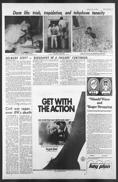 Daily Trojan, Vol. 58, No. 56, December 12, 1966