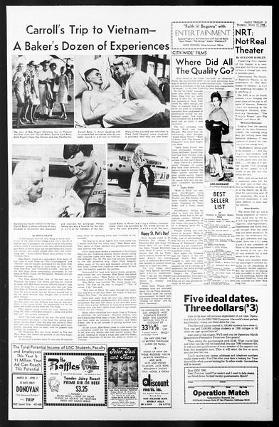 Daily Trojan, Vol. 57, No. 89, March 17, 1966