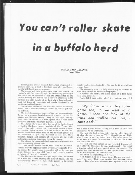 SoCal, Vol. 62, No. 124, May 17, 1971