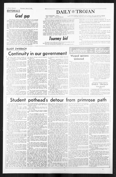 Daily Trojan, Vol. 59, No. 84, March 06, 1968