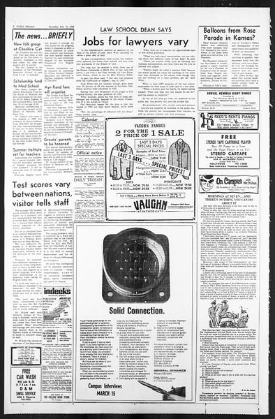 Daily Trojan, Vol. 59, No. 71, February 15, 1968