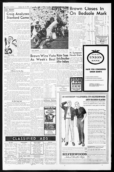 Daily Trojan, Vol. 55, No. 36, November 12, 1963