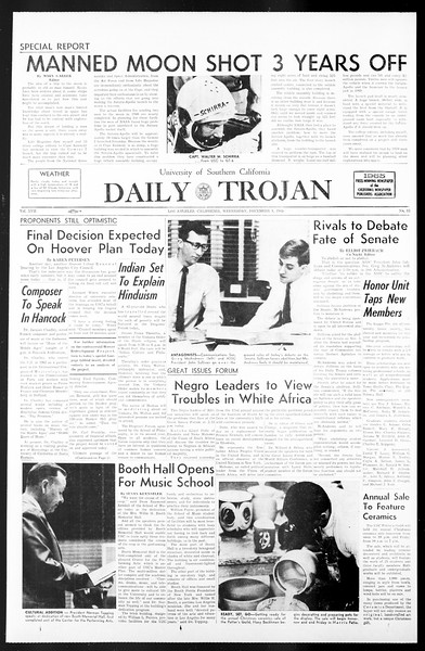 Daily Trojan, Vol. 57, No. 53, December 08, 1965