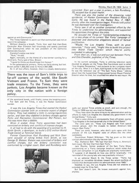 SoCal, Vol. 60, No. 96, March 24, 1969