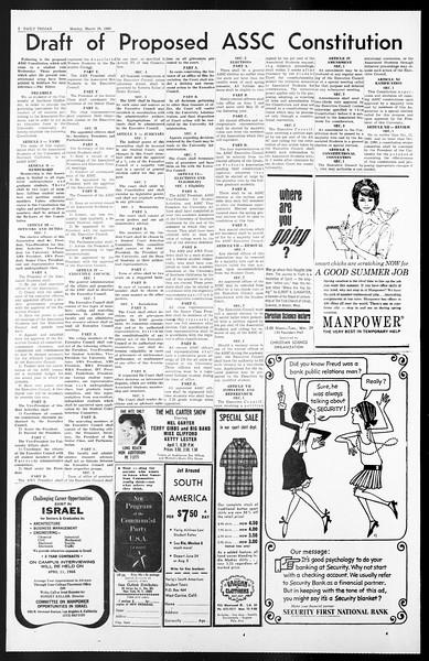 Daily Trojan, Vol. 57, No. 95, March 28, 1966